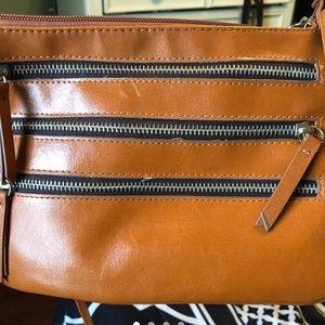 Tan shoulder purse